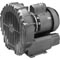 Commercial Blower, Gast, 1.0hp, 115v/230v, Single Phase 34-123-1600