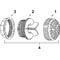 "HydroAir 5"" Suction Assy 54-470-W008"