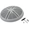 "10"" Ultra-Retro Drain Cover, Concrete,Gray 55-270-2957"