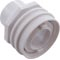 "Eyeball Fitting, WW Flush Mount, 1-1/2""Insider, 2-1/4""fd,Wht 55-270-3500"