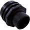 "Eyeball Fitting, WW Flush Mount, 1-1/2""Insider, 2-1/4""fd,Blk 55-270-3501"