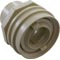 "Eyeball Fitting, WW Flush Mount, 1-1/2""Insider,2-1/4""fd,Bone 55-270-3502"