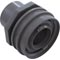 "Eyeball Fitting, WW Flush Mount, 1-1/2""Insider, 2-1/4""fd,Gry 55-270-3503"
