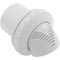"Inlet Fitting, Infusion Venturi, 1-1/2"" Insider, White 55-276-1040"