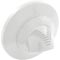 """Inlet Fitting, Infusion Venturi, 1""""s Self Align,w/Flange,Wht 55-276-1150"""