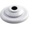 "Eyeball Fitting, CMP, 1-1/2""mpt, 3-3/8""fd, 1/2""Orifice, Wht 55-605-1965"