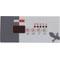 Overlay, Gecko TSC-18-GE1, 4 Button, P1, Light 58-337-1905