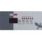 Overlay, Gecko TSC-18-GE2, 4 Button, P1, P2, Light 58-337-1906