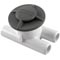 "Spa Vent, Vacuum Break Inlet, 3/4""sb, Grey 89-270-1022"
