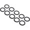 "O-Ring, Buna-N, 1-9/16""ID, 3/32""Cross Section,Generic(10 pk) 90-423-5129"