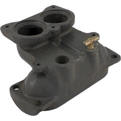 Inlet/Outlet Header, Raypak 153A/155A, Cast Iron 47-197-1514