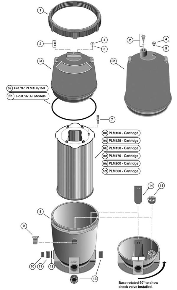 Pentair Sta-Rite 27001-0130S Spring Check Valve