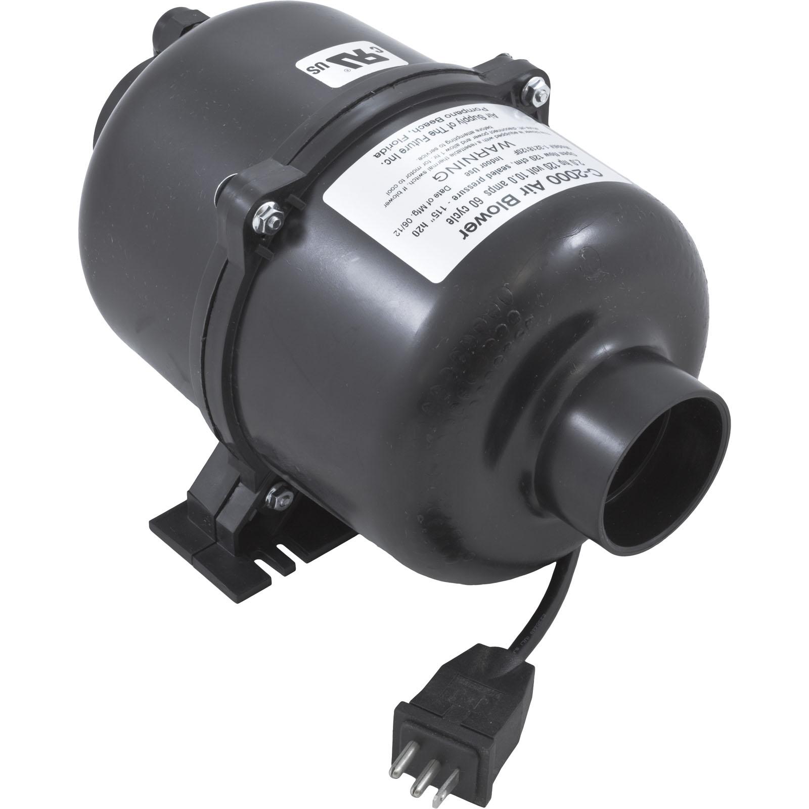 Blower Air Supply Comet 2000 2 0hp 115v 10 0a Mini