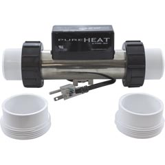 Heater,Bath,H-Q InLine,PH301-15UV,115v,1.5kW,3ft,Vacuum 46-355-1055
