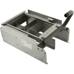 Burner Tray, Raypak Model R185, with out Burner, Sea Level 47-197-1774