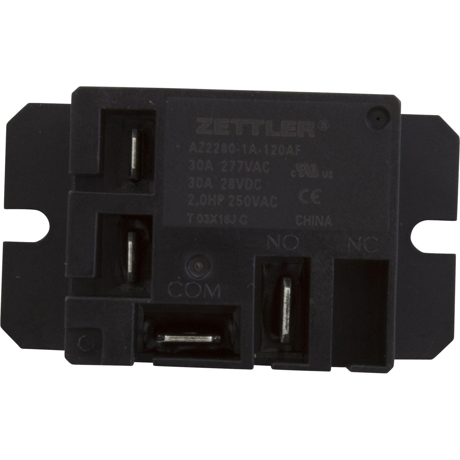 Power Relay Zettler Spst 30a 115v Mini Z2280 1a 120a