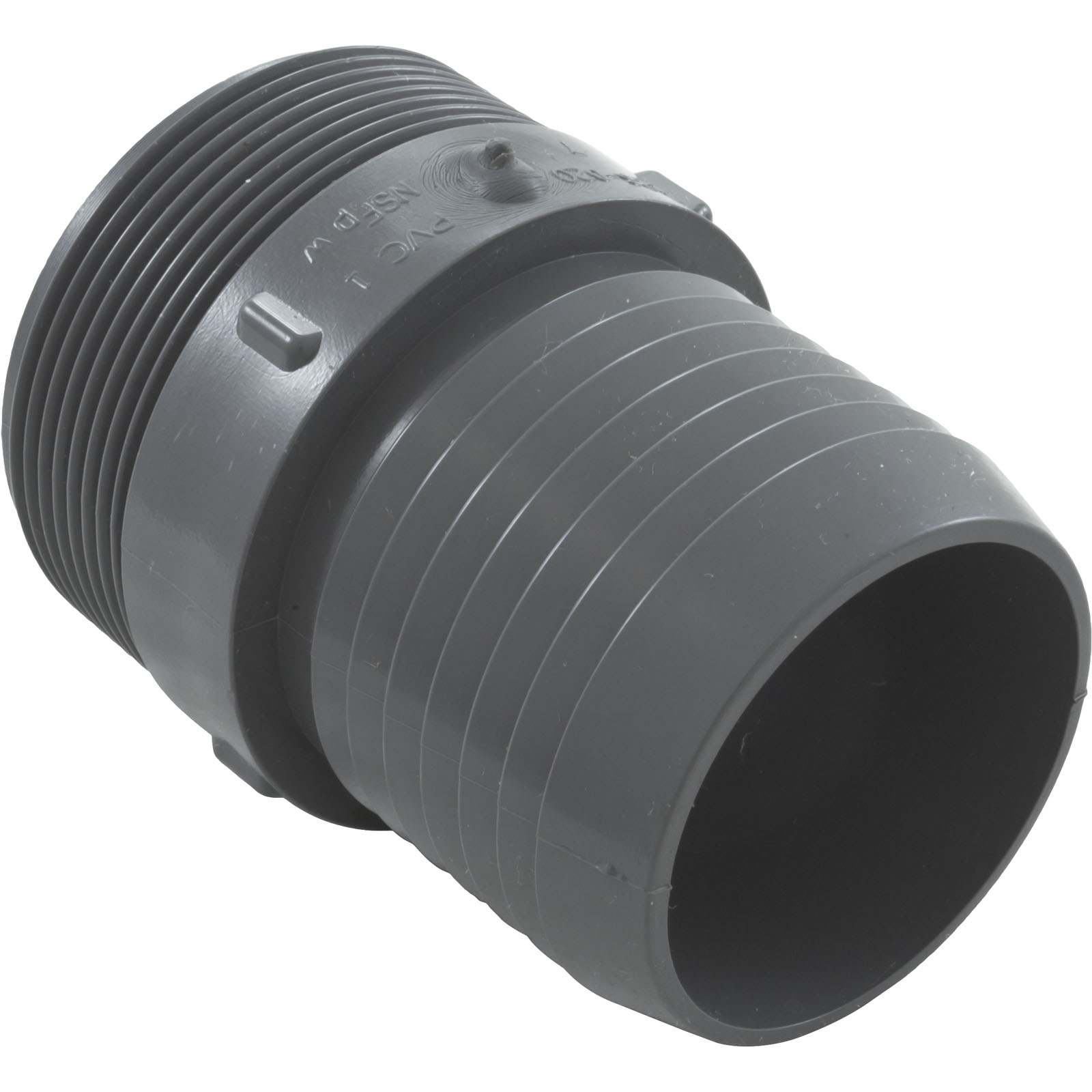 Barb adapter lasco quot male pipe thread pvc